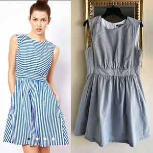 [Emily and Fin] Pinstripe Dress